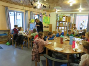 Besuch Kinderhort Don Bosco
